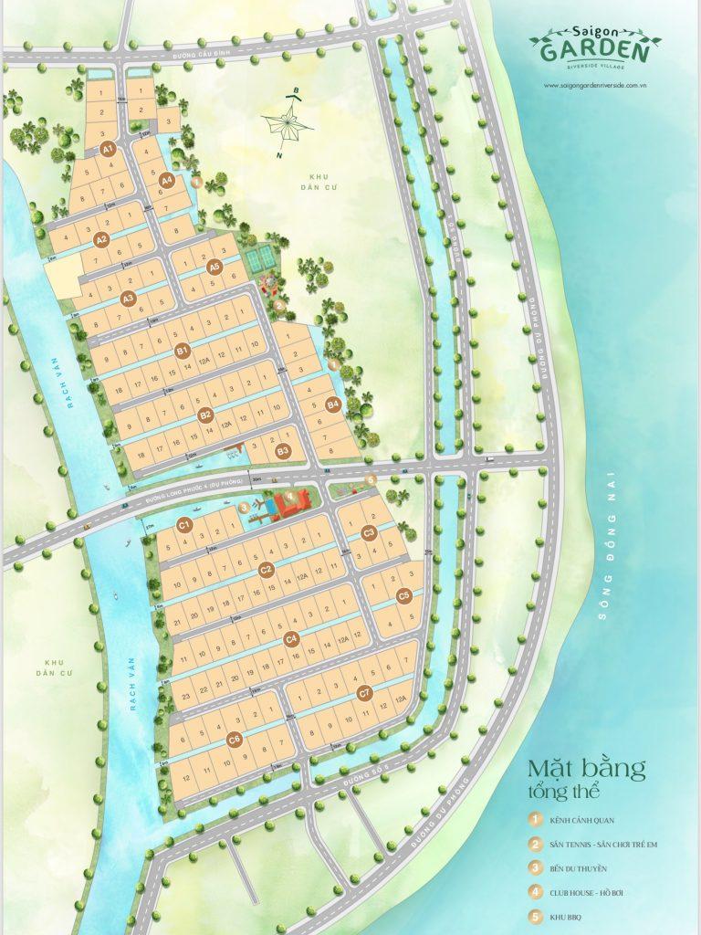 mặt bằng Saigon Garden Riverside