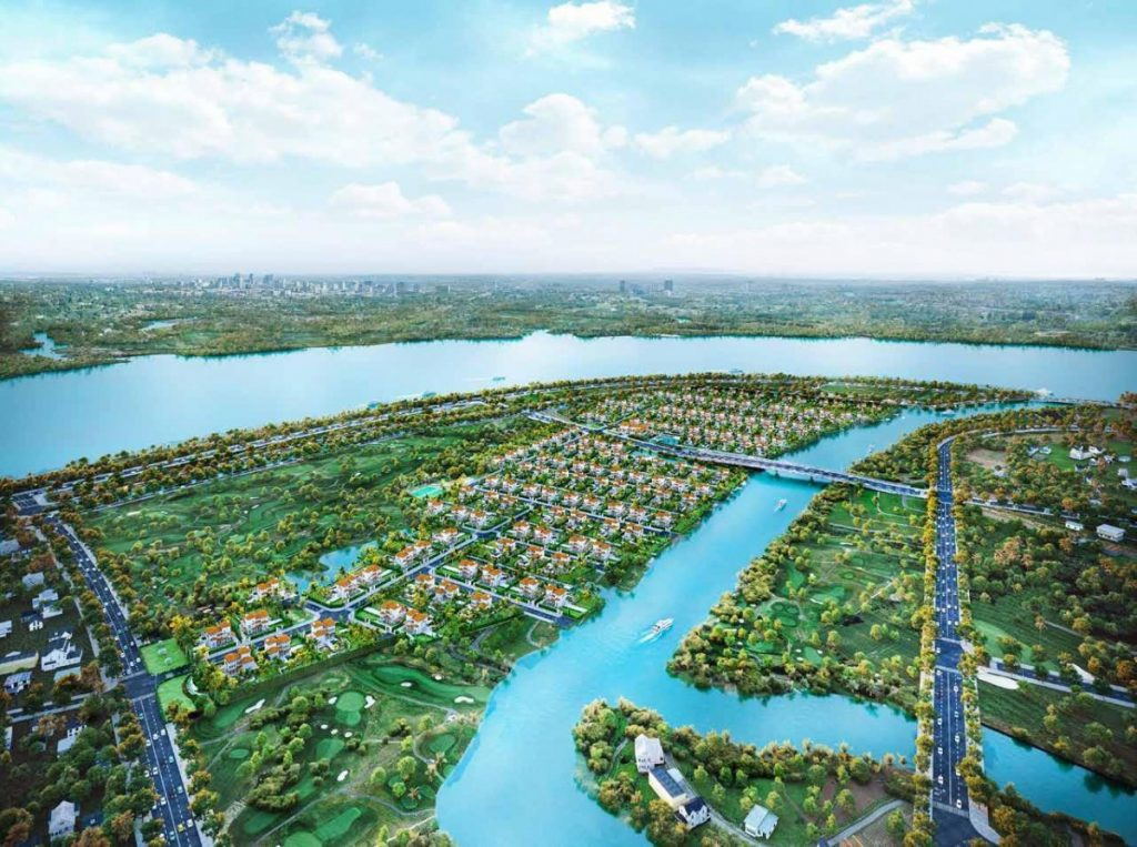 Biệt thự vườn Saigon Garden Riverside