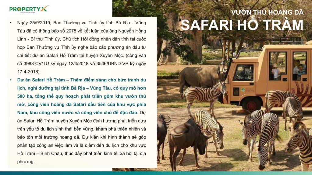 quy hoạch vườn thú safari