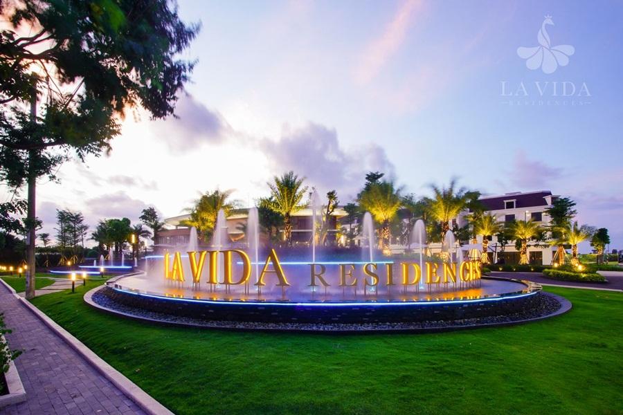 cổng dự án La Vida Residences Vũng Tàu