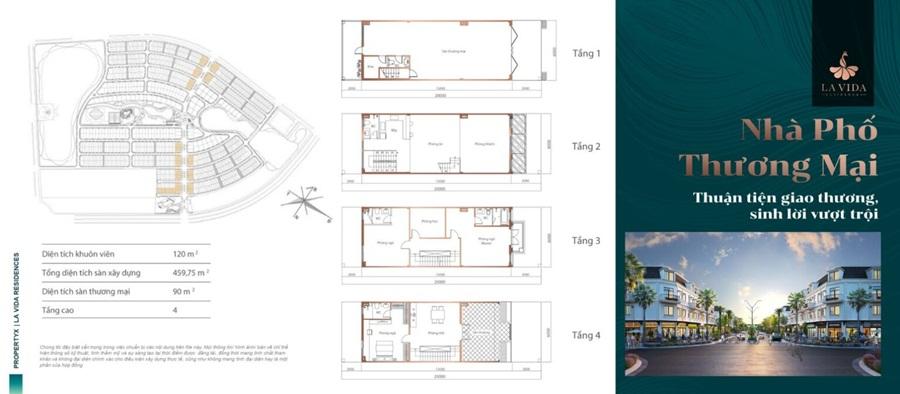 thiết kế nhà phố thương mại (SHOPHOUSE)