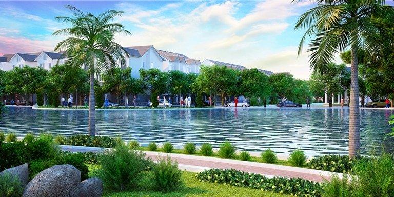 hồ cảnh quan Dự án Ghềnh Ráng Quy Nhơn