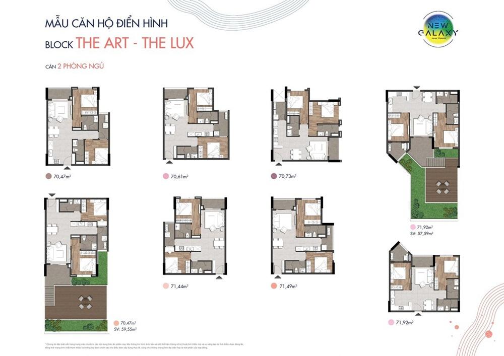 thiết kế chi tiết căn hộ Nha Trang New Galaxy