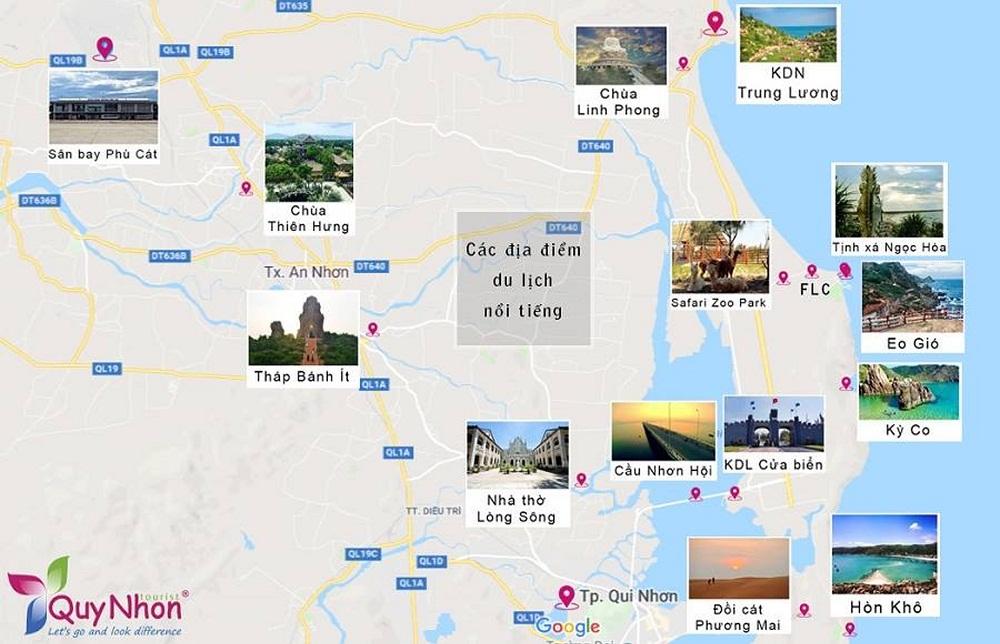 các địa điểm du lịch
