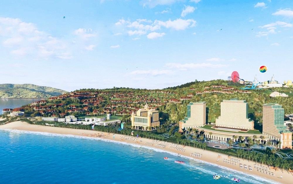 khu khách sạn Hải Giang Merry Land