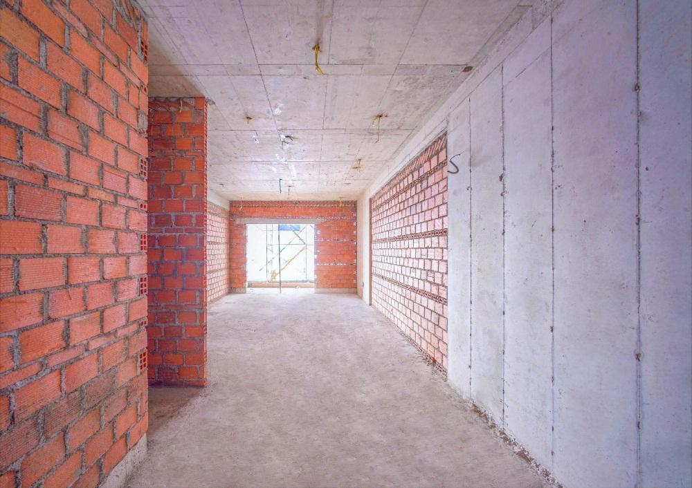 xây gạch tường